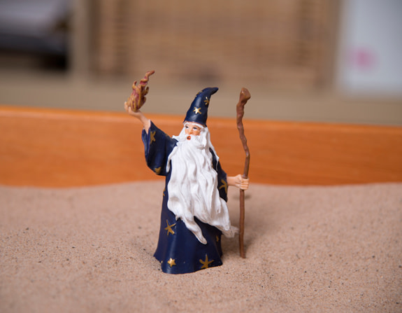 wizard figure certificate in sandplay therapy